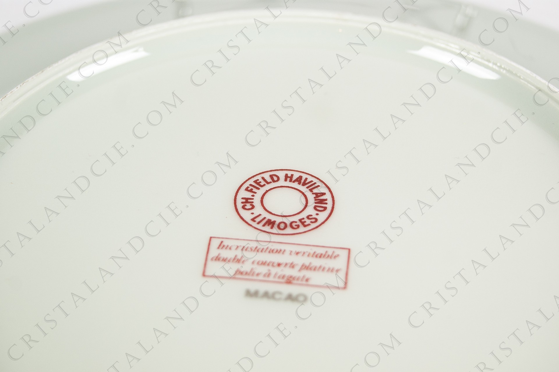 Dessert plate Macao by Haviland and Parlon