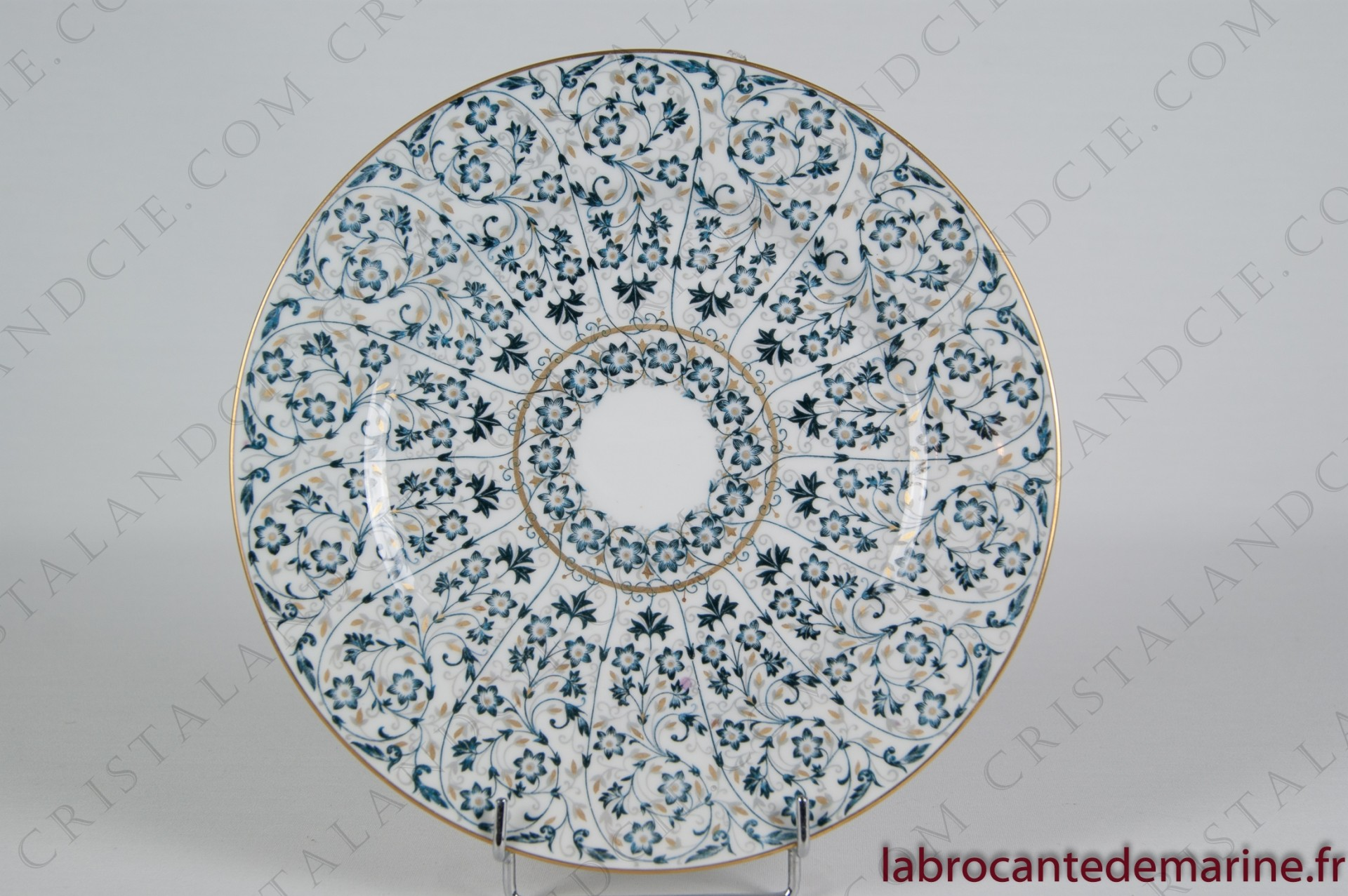 Dinner plate Séville by Haviland and Parlon