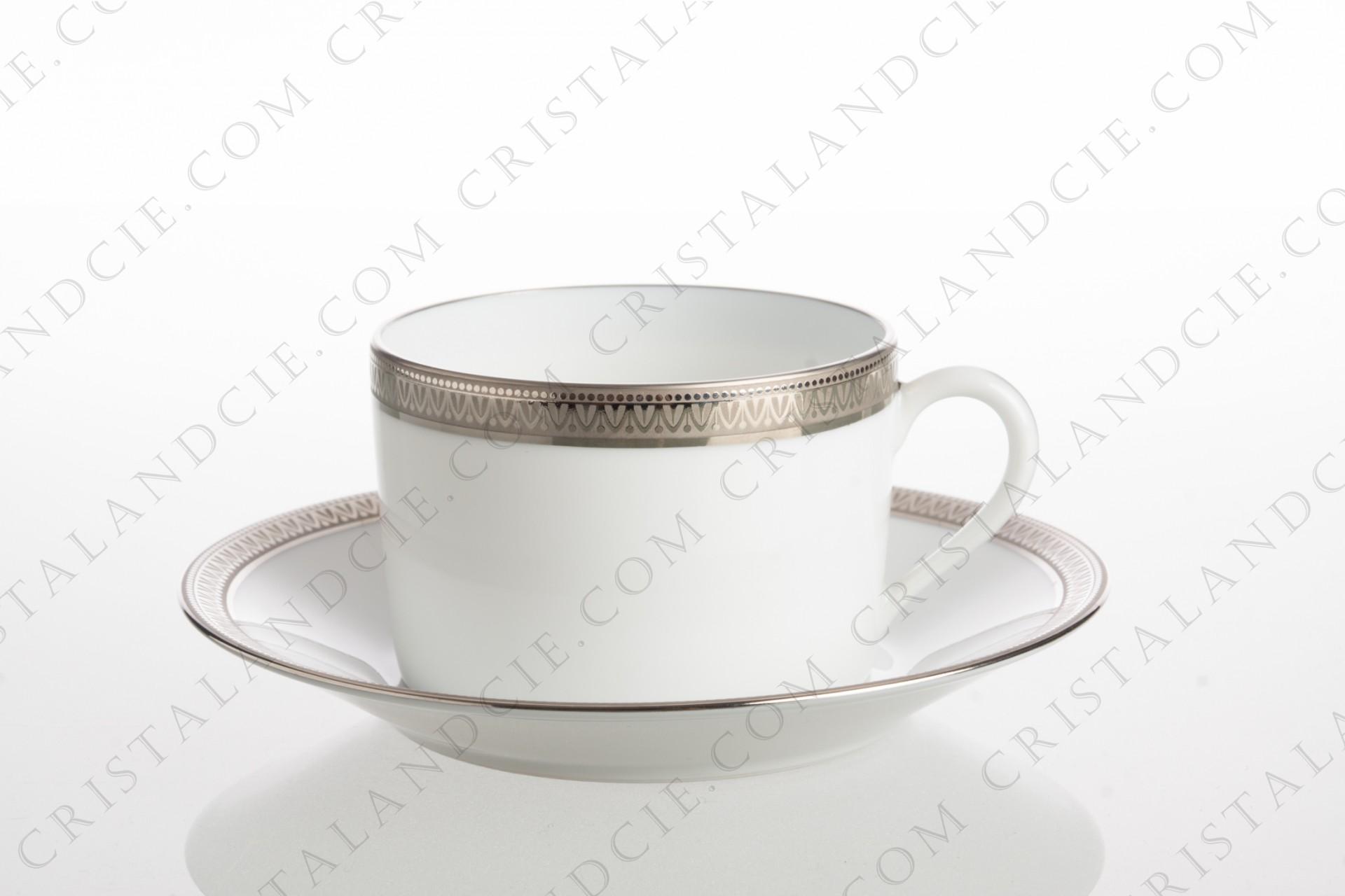 Tea cup Malmaison by Haviland and Parlon