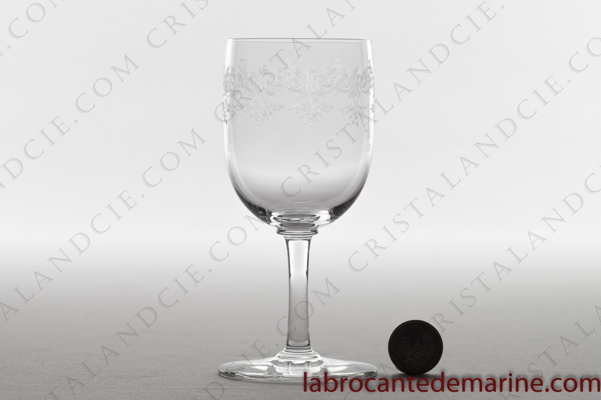 Verre bourgogne s vign en baccarat - Prix d un verre en cristal ...
