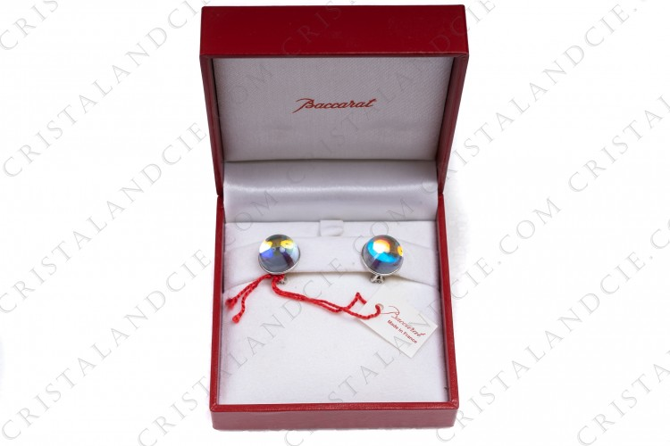 Earrings Eclipse iridescent by Baccarat