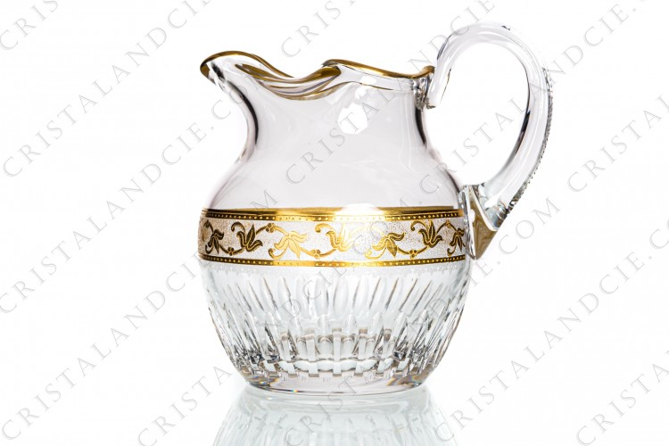 Water jug Callot by Saint-Louis