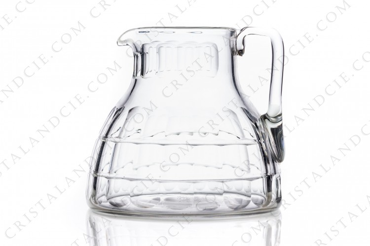 Water jug Charmes by Baccarat