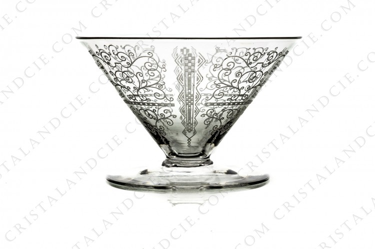 Champagne saucer Lido by Baccarat