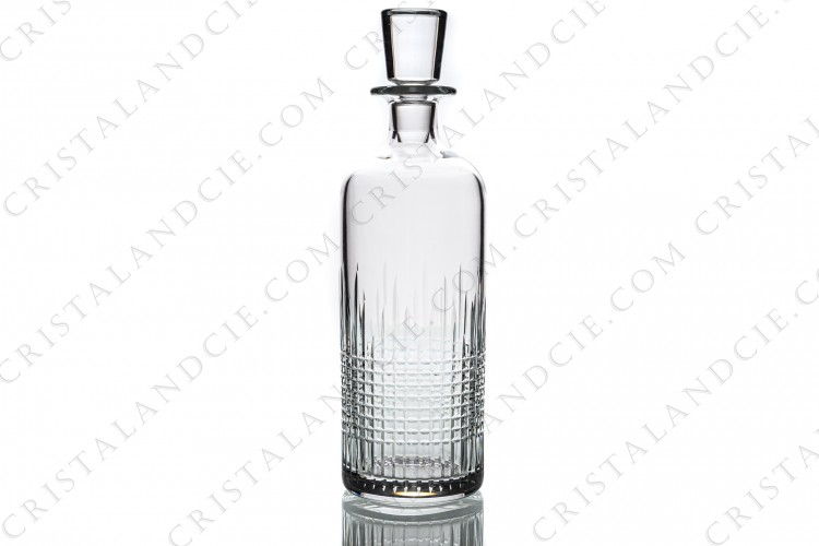 Round Whisky decanter Nancy by Baccarat