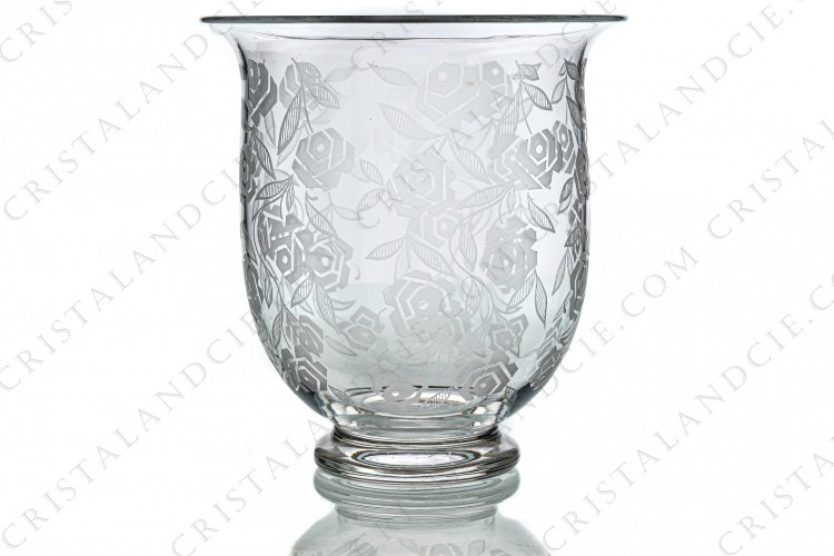 Big vase Fontenay by Baccarat