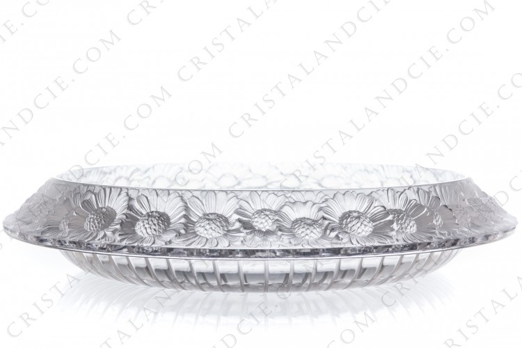 Big bowl Marguerites by Lalique