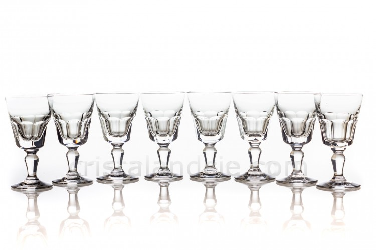 Eight cordial glasses Missouri by Baccarat