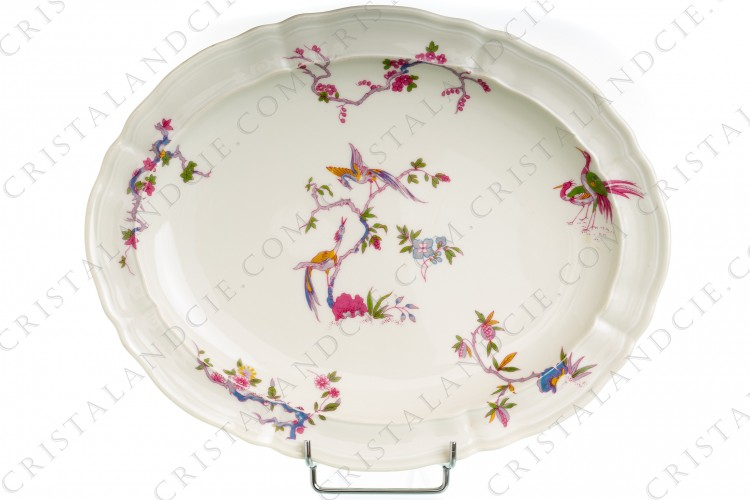 Plat ovale Chantilly par Bernardaud