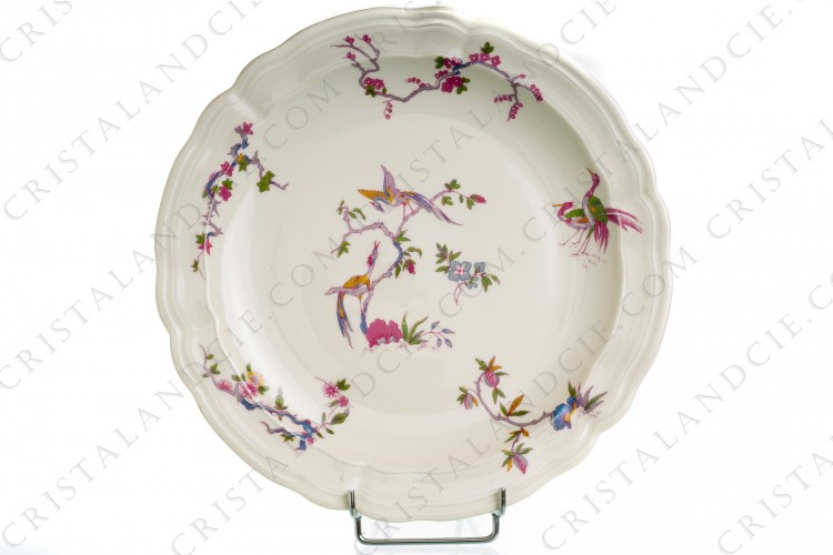 Plat rond Chantilly par Bernardaud