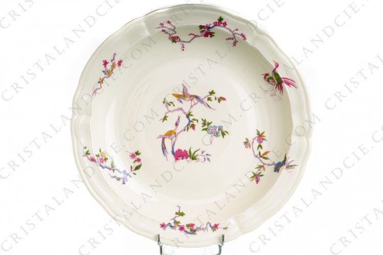 Plat rond creux Chantilly par Bernardaud