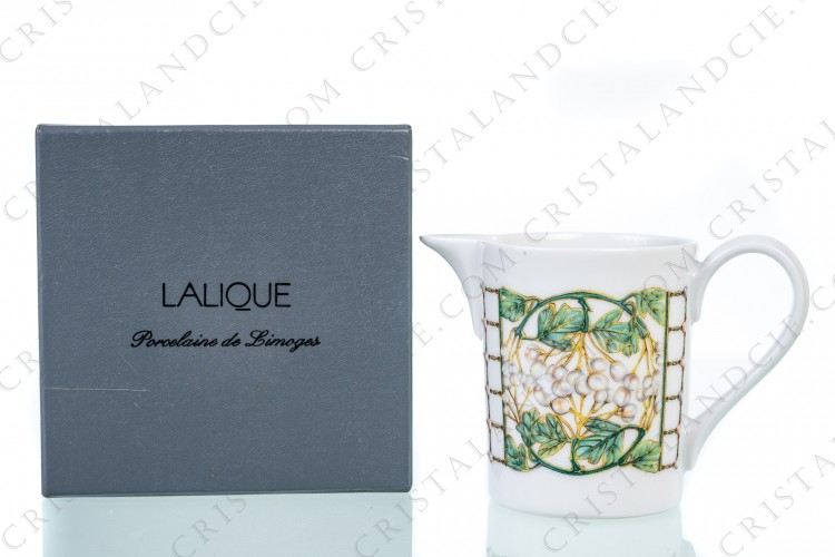 Creamer Perles by Lalique