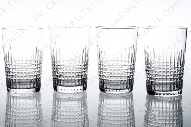 Set of tumblers Nancy by Baccarat ( 3,62 inches)