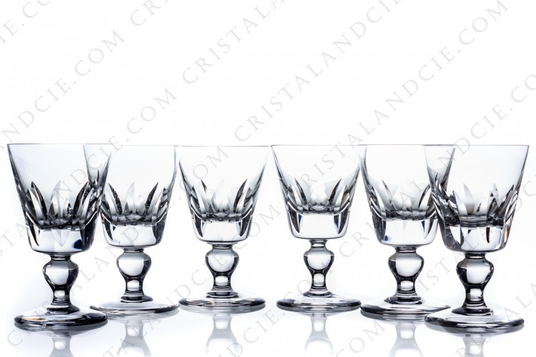 Set of wine glasses n°3 Jersey by Saint-Louis