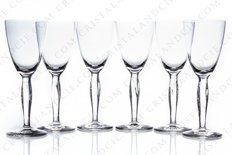 Set of wine glasses n°4 Ovedelia by Daum