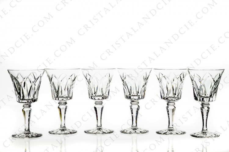 Six wine glasses n°4 Camargue by Saint-Louis