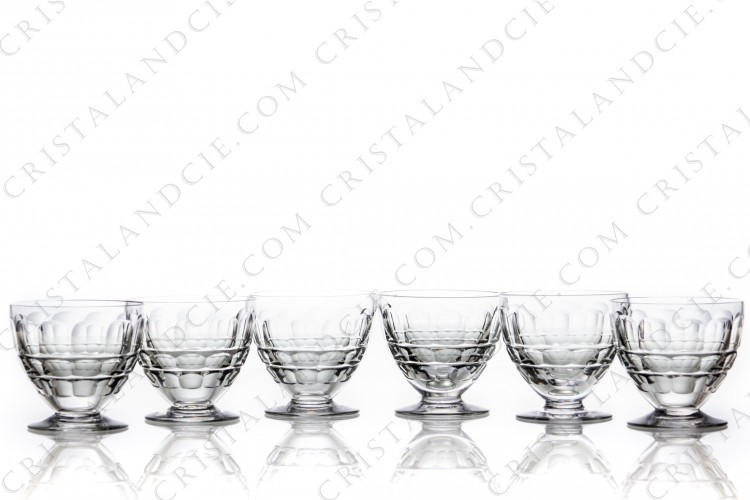 Six wine glasses n°4 Charmes by Baccarat