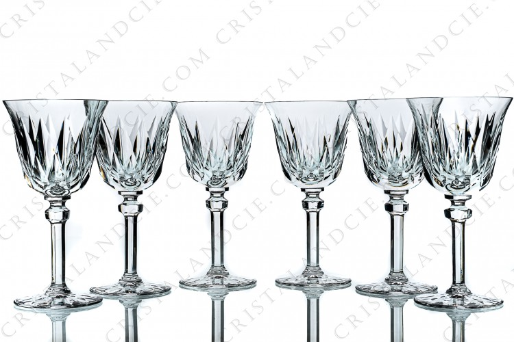 Six wine glasses n°3 Provence by Saint-Louis