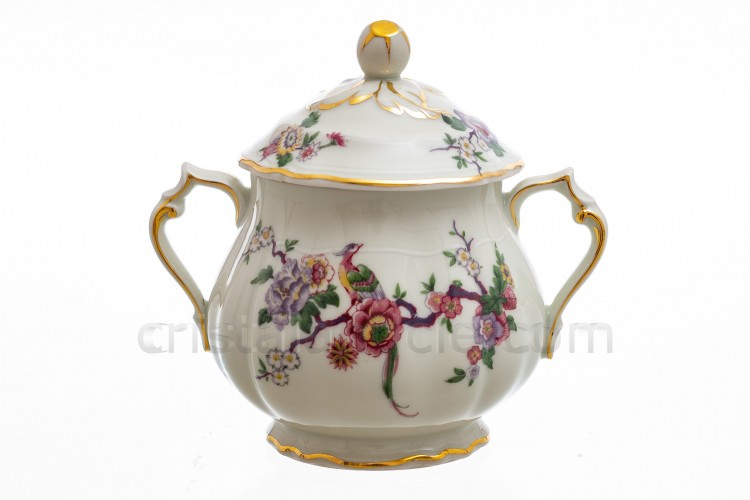 Sugar bowl Bengali by Bernardaud