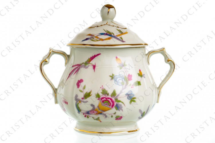 Sugar bowl Chantilly by Bernardaud