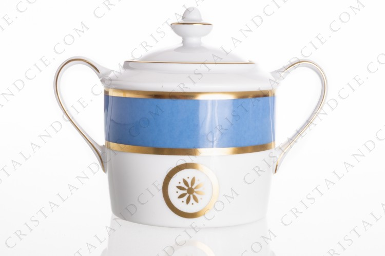 Sugar bowl Sparte Céleste by Bernardaud