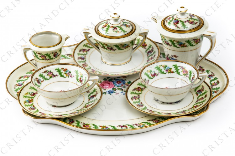 Coffee set by Haviland et Parlon