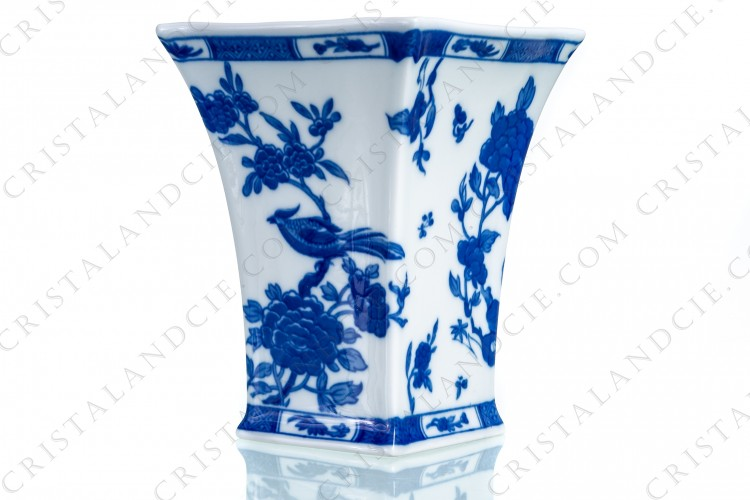 Vase Chine Bleu de Four by Bernardaud