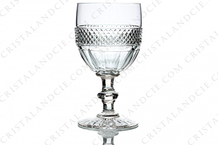 Commemoration glass Trianon by Saint-Louis