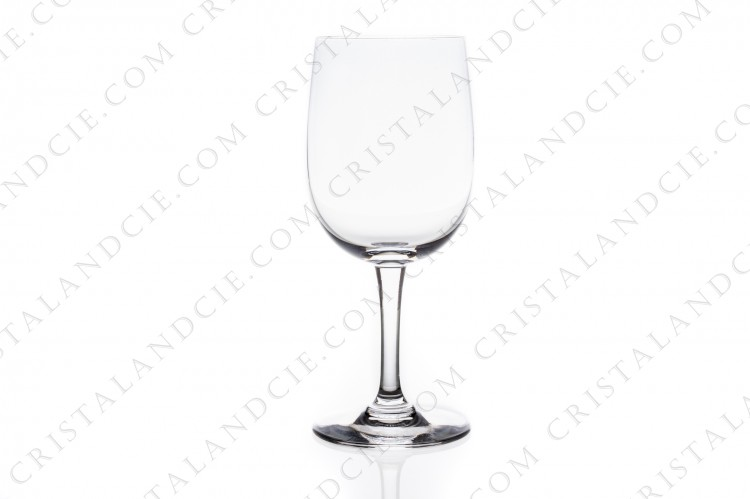 Watergoblet n°2 in crystal by Baccarat pattern Aurore