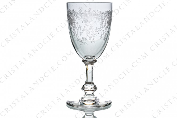 Water glass n°2 Cléo by Saint-Louis