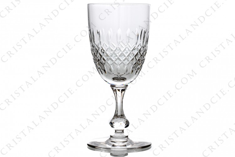 Verre à eau n°2 Messine par Saint-Louis