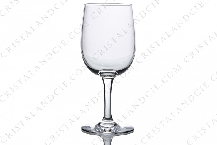 Wine glass n°3 in crystal by Baccarat pattern Aurore