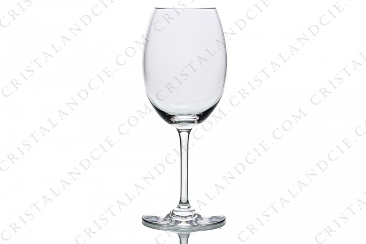 Loire wine glass in crystal by Baccarat collection Œnologie