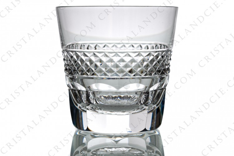 Whisky glass n°3 Old fashion  Trianon by Saint-Louis