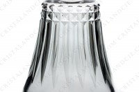 Decanter in crystal by Baccarat pattern Piccadilly with an important cut pattern photo-6