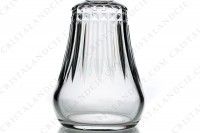 Decanter in crystal by Baccarat pattern Piccadilly with an important cut pattern photo-7