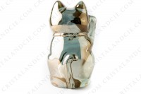 Cat Maneki Neko gold by Baccarat photo-4