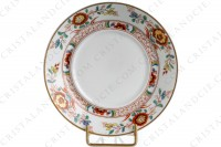 Tea cup in Limoges china by Haviland pattern Cathay decorated with polychromes flowers photo-7
