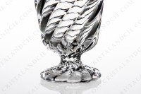 Watergoblet in crystal by Baccarat pattern Swirl photo-5
