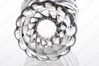 Watergoblet in crystal by Baccarat pattern Swirl photo-6