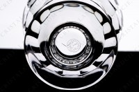 Watergoblet n°2 in crystal by Baccarat pattern Charmes with a cut pattern on the parison photo-5