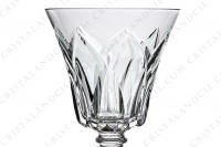 Sherry glass n°5 in crystal by Saint-Louis pattern Camargue with an important cut pattern photo-3