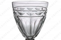 Sherry glass n°5 in crystal by Baccarat pattern Campsegret decorated with flat cuts and a frieze photo-3