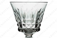 Sherry glass n°5 in crystal by Baccarat pattern Piccadilly with a cut pattern photo-2