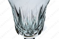 Wine glass n°3 in crystal by Saint-Louis pattern Provence with an important cut pattern photo-3