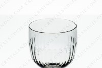 Wine glass n°4 in crystal by Baccarat pattern Renaissance with a cut pattern on the parison photo-2