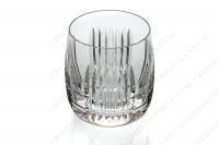 Whisky glass in crystal by Saint-Louis pattern Nice decorated with cut bevels photo-2