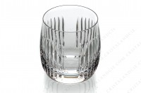 Whisky glass in crystal by Saint-Louis pattern Nice decorated with cut bevels photo-3