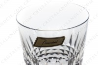 Whisky glass Old fashion large ( tumbler n°1) in crystal by Baccarat pattern Piccadilly, with a cut pattern photo-2